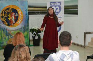 Prva hrvatska profesionalna pripovjedačica Jasna Held